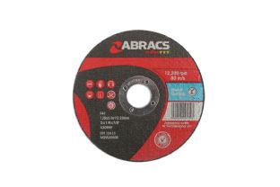 Connect 32052 Abracs 125mm x 3.0mm Flat Cutting Disc Pack 10